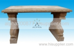 antique effect stone carvings