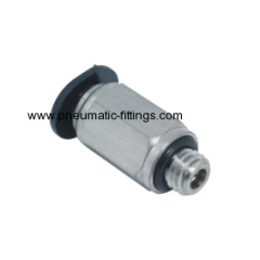 Male Straight mini tubing fittings from china