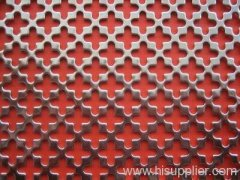 perforated round hole metal