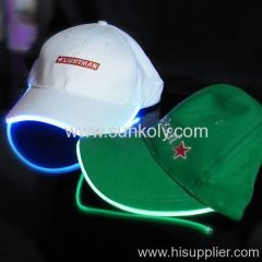 LED cap/flashing led caps/led lighting caps/light up caps