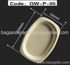oval tray disposable tableware food container