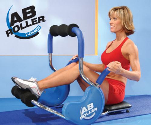 Ab Roller V-Crunch