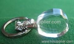 clear crystal keychains