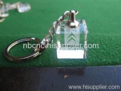 crystal keychains for Citroen car