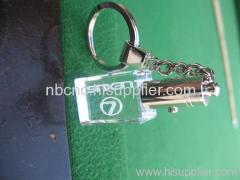 crystal keychain for lexus car