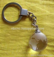 crystal keychains with global