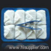 2018 New Genuine Hot And Cold 100% Cotton Disposable Towel For Airline-30x30cm 30g with strip towel 8pcs per tray