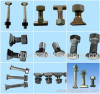 track bolt, railway bolts, T bolts, clamp bolt