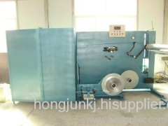 Aluminum flexible duct forming machine