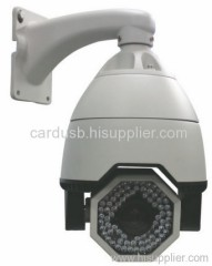 Outdoor IR Cut Sony CCD PTZ speed zoom camera