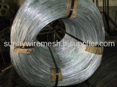 Electro-galvanized steel wire