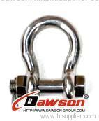 Stainless Steel bolt Anchor shackle