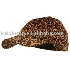 Cheetah Print Baseball Cap