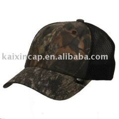 Fitted Camouflage Caps