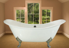 classic double slipper tub
