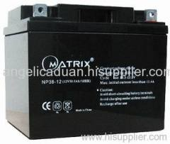 electric lighting lead acid battery