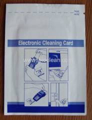 electronic cleaning card