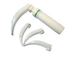 Disposable fiber laryngoscope