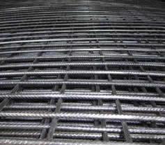 Black Welded Wire Mesh Panel