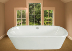 the enamel freestanding cast iron baths