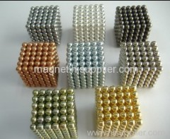 neodymium sphere magnets magnetic cube gift