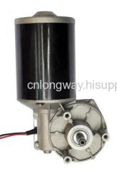PM DC WORM MOTOR