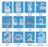 Plastic hook,Plastic hanger,Carton hook,Packing hook