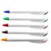 Retractable Plastic Ballpoint Pen