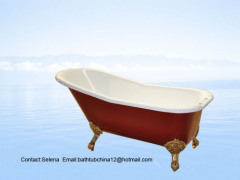 single slipper baths