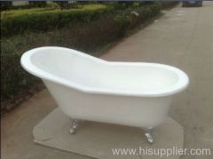 elegant slipper bath