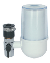 plastic Tap Filter with PP cartridge inside