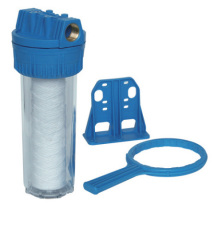 undersink single clear water filter