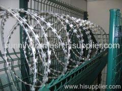 razor wire with blade