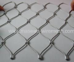 Decorative rope mesh architectural stainless steel mesh