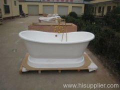 popular pedestal cast iron bathtub