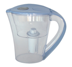 glass carbon water pitcher