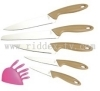 5pcs knives set with PP block