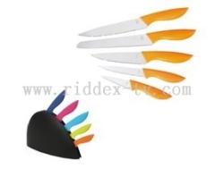 5pcs knives-set with PP block