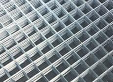 Framed welded wire mesh