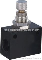 Accurately flow control valve