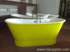 stainless steel cover bath tub
