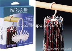 Twirl A Tie Hanger