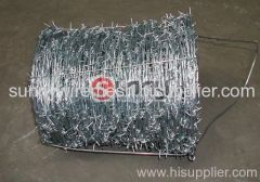 2 strand barbed wire
