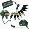 120W Universal Adapter with USB and Digital Screen-120WBL