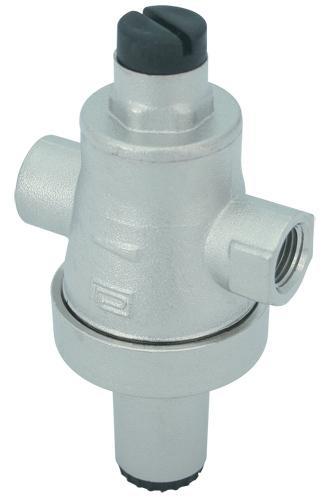 reducing Decompression pressure valves