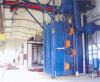 hanger type abrasive blasting equipment
