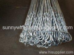 galvanized loop wire