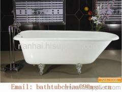 clawfoot classical bathtub