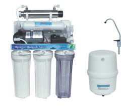 6 stage reverse osmosis with UV light