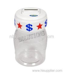 Electronic Counting Money Jar